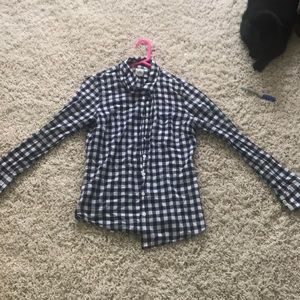 J crew button up blouse ! Flannel